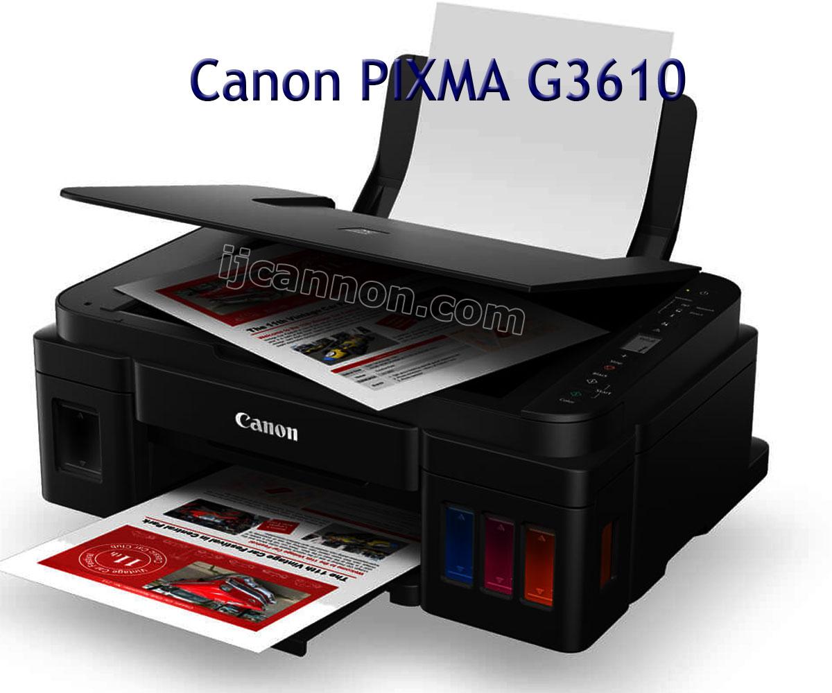 Canon Pixma G3160 Driver Download